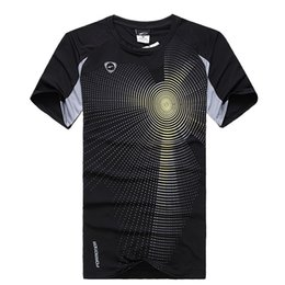 Wholesale Coolmax Shirt - Wholesale-HOT New Outdoor Sports Quick-Drying Short-Sleeve Round Neck T-Shirt Breathable Lightweight COOLMAX Elastic Quick-Drying Fabric 7
