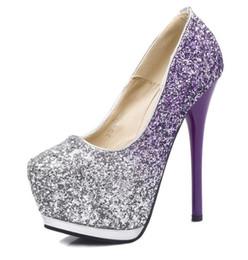 Wholesale Korean Woman Nightclub - Korean fashion fine with nightclub sexy high-heeled shoes waterproof super slim low shoes
