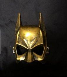 Wholesale Terror Face Women - Retro classic movie theme Batman mask Halloween Mask half face mask of terror