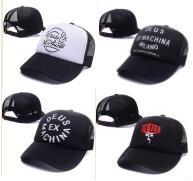Wholesale Trucker Hat Embroidery - ICON Embroidery DEUS Ex Machina Baylands Trucker snapback Caps bone MOTORCYCLES mesh baseball Cap sport palace drake 6 panel hip hop god hat