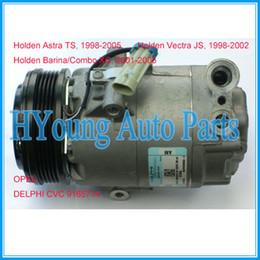 Wholesale Delphi Auto - Factory direct sale auto ac compressor for Holden Astra Barina Combo XC Vectra JS OPEL Delphi CVC 9165714