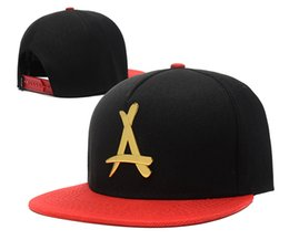 Wholesale Hat Rock - New Arrival 2016 Hot Sale THA Alumni Iron standard hip-hop hat adjustable hats rock casual hats retail Freeshipping