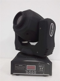 Wholesale Moving Head Lights China - Newest design 60W china mini led spot moving head light 60W gobo moving heads lights super bright