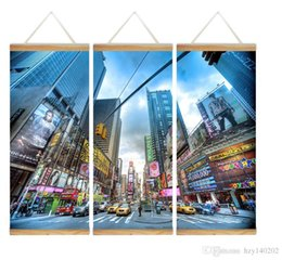 Wholesale road life - YIJIAHE Modern Print Scroll Canvas Painting Road 3 Piece Canvas Art Wall Pictures for Living Room Large Wall Art CHS11