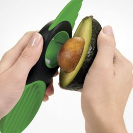 Wholesale Peeler Tool - Avocado Slicer with Knife Slicers Pitter Peeler Scoop Kitchen Food Utensil Tool Gadgets 2017 Good Grips Gadget 3-IN-1
