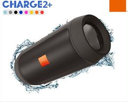 Wholesale Subwoofer Speaker Portable Mini - 2016 HIGH QUALITY Charge2+ Wireless Bluetooth speaker Subwoofer Outdoor portable mini speaker HIFI waterproof bluetooth speaker