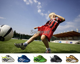 Wholesale Cheap Youth Shoes - Youth Ace 16+ purecontrol soccer boots Pure Control Football Shoes Kid Soccer Cleats Boots Cheap Original Quality Boy Girl Football Shoes