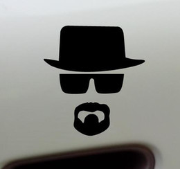 Wholesale Breaking Bad Decal - Hot Selling Breaking Bad Stickers Laptop Heisenberg Sticker Car Sticker Heisenberg Vinyl Sticker Walter White Decals