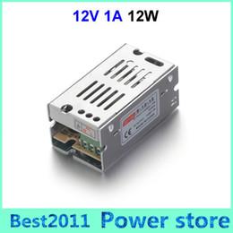 Wholesale Best Led Strip Lights - 110V 220V Best Quality Voltage Transformer 12W 12V 1A Switch Power Supply Switching Driver Adapter for Led Strip Light Display