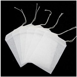 Wholesale Teabag Strainer - 1000pcs lot Empty Teabags String Heat Seal Filter Paper Herb Loose Tea Bags Teabag 2016 hot