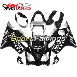 Wholesale Honda Star Fairing - Full Motorcycle Plastics ABS Injection Fairing Kits For Honda CBR600 F4i 2001 2002 2003 Year 01 02 03 Fairings Seven Stars Black Cowling