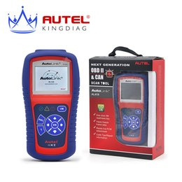 Wholesale Car Code Reader Online Free - Wholesale-Autel AutoLink AL419 OBD II & CAN Code Reader AL 419 Free Online Update with Troubleshooter code tips Car Diagnostic Scan Tool