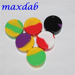 Wholesale Small Container Wholesalers - Wholesale 22ml silicone wax oil dab jars containers small free shipping silicone jar small 22ml silicone wax container