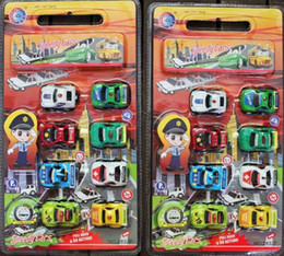 Wholesale Plastic Toy Police Car - Back of the police car piece, an 8 installation, transportation toy car