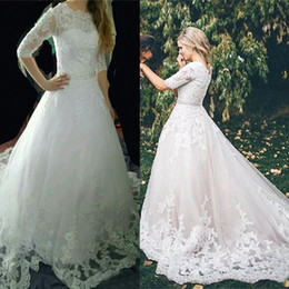 Dropshipping High Collar Plus Size Wedding Dresses Uk Free Uk