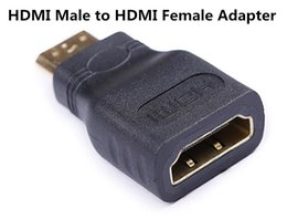 Wholesale Vga Male - Mini HDMI(Type C) Male to HDMI(Type A) Female Adapter Connector new For HDTV