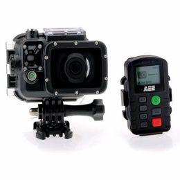 Wholesale Microsd 32g - AEE S71 HD 4K 2.7K 1080P Portable Sports Camera 100m Waterproof 12X Digital Zoom w  32G TF Card