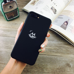 Wholesale Cat Cell Case - For Apple iPhone X cell phone Cases iPhone8 Simple Cat and Fish Tpu iPhone8 plus Phone Case 2017 best new Wholesale prices free shipping