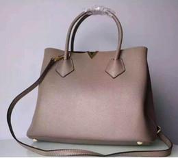 Wholesale womens genuine leather handbags - N41435 KENSINGTON Shoulder Bag High Quality Leather Purse Luxury Brand Name Womens Handbag Real Leather Purse Genuine Leather Shoulder bag