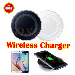 Wholesale Cheap Qi Chargers - cheap Qi Wireless Charger Cell phone Mini Charge Pad For Qi-abled device for Samsung Note 8 S8 S7 iPhone X iPhone 8 with retail package