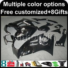 Wholesale Cbr F3 - 23colors+8Gifts black CBR600F3 95-96 95 96 1995-1996 ABS Fairings New Bodywork Kit Fairing For honda CBR600 CBR 600 F3 1995 1996