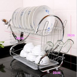 Wholesale Drain Dish Rack - Metal Kitchen Organization Draining Rack Multifunctional Shelf Storage Rack Dish Drying