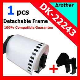 Wholesale Dk Labels - Wholesale-12X ROLLS Brother Compatible Labels Paper Labels Thermal labels 102mmx30.48m Continuous dk 22243 DK-22243 DK22243 DK-2243 DK243