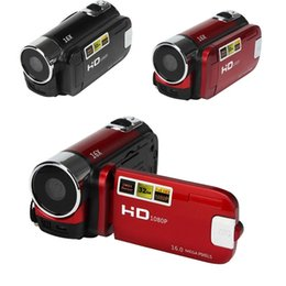 """2019 caméra cachée de vision nocturne sans fil 2.7 """"TFT LCD 16MP DV-100 Capteur CMOS Appareil photo numérique HD 720P Caméra vidéo numérique 16x caméscopes numériques DV"""