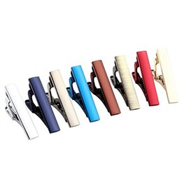 Wholesale Skinny Tie Set - Mens Stainless Steel Luxury Fashion Tie Bar Pinch Clip Set, Exquisite GQ Classic Skinny Ties 1.3 Inch