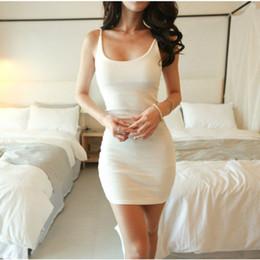 Wholesale Grey Empire Waist Dress - 2016 Sexy Women Dress Female Evening Club Party Summer Dress Close-fitting Slim Sling Waist Dress Black Grey Beige Plus Size