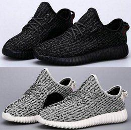 Wholesale Low Ankle Boots Black - DORP SHIPPING 350 boost Running shoes Classic Low Kanye West Athletic Boots Ankle Boots Low cut Shoes Sports running shoes 36~48