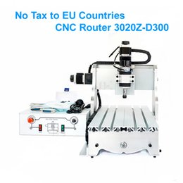 Wholesale Spindle Milling - Free Taxes to Russia, CNC Router 3020Z-D300W Mini cnc milling machine with ball screw 300W spindle motor for PCB drilling
