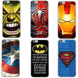 Wholesale Super Model Phone - Explosion models Plus iPhone6s phone shell Apple 6 alliance super hero super slim TPU mobile phone shell