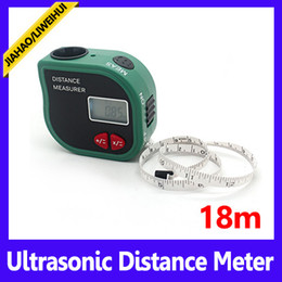 Wholesale Protable Laser - Protable type measurer 1m laser pointer ultrasonic distance meter 60ft MOQ=1 free shipping