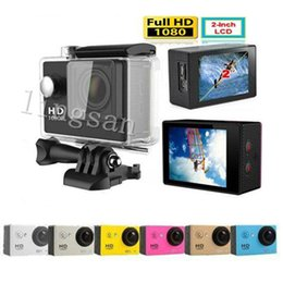 Wholesale Gopro Full Hd - SJ4000 Camera Sports Gopro HD Action Diving 30M 2.0140° Meter Waterproof Cameras 1080P Full HD Underwater Sport DV Car DVR A9 with wifi