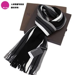 Wholesale Winter Mufflers Men - Yarn scarf muffler thermal scarf female and male autumn winter scarf boys female male scarf