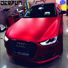 Wholesale Car Wrapping Matt - 1M 20M Chrome PLATING vinyl film Full Car chrome sticker Car Wrapping chrome car stickers Matt plating film