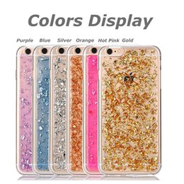 Wholesale Faceplate Design - Iphone 7 7 plus 6s Case,Soft Clear Cases Luxury Bling Sparkle Faceplate Colorful Leaf Design Semi-transparent Flexible Soft TPU Case