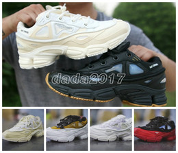 red athletic Coupons - New Arrival 2017 High Quality Raf Simons X Sneakers Consortium Ozweego 2 Outdoor Running Shoes Men Woemn Red Breathable Athletic Sport Shoe