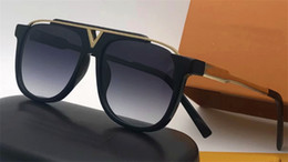 Wholesale Sunglasses Lens - The latest selling popular fashion men designer sunglasses 0937 square plate metal combination frame top quality anti-UV400 lens with box
