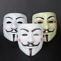 2019 máscaras de máscara de rosto cheio carnaval V para a máscara da vingança Máscaras masculinas do partido da fêmea Máscaras completas do mascarada da cara Máscaras do filme Mardi Gras Máscara assustador do traje do horror máscaras de máscara de rosto cheio carnaval barato