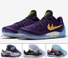 Wholesale Cheap Basketball Ball Shoes - Retro Zoom Kobe 5 Venomenon Generation Kobe Bryant Mens Basketball Shoes KB 5 V Basket Ball Sports Shoes Sneaker Cheap Size 40-46