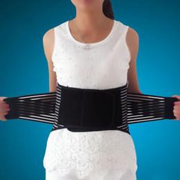 Wholesale New Back Support Belt - Wholesale-Breathable Adjustable Waist Elastic Belt Waist Lumbar Back Brace Support New free shipping
