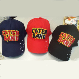 Wholesale Ny Bone - icon cap 100% Cotton Luxury Brand D2 Cap Icon Embroidery hats & caps men women snapback Cap bone ny 6 panel Black dsq baseball hat gorras