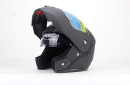 Wholesale Wholesale Motorcycle Visors - Wholesale Full face helmet motorcycle helmet Flip up helmet with inner sun visor everybody affordable 2pcs lot hot sale