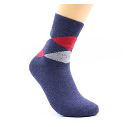 Wholesale Cheap Business Socks - High Quality Comfortable Short Cotton Grid Leisure Casual Cheap Thick New Fashion Mixed Color Business Socks Wholesale