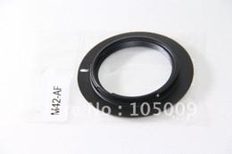 Toptan-M42 Lens a Alfa A AF Minolta MA a550 a700 a900 a55 a65 a580 için montaj adaptörü yüzük supplier ring adapter m42 nereden halka adaptör m42 tedarikçiler