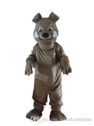 Wholesale Big Tooth Costume - SX0720 Good vision good Ventilation a pug mascot costume with two big teeth for adult to wear