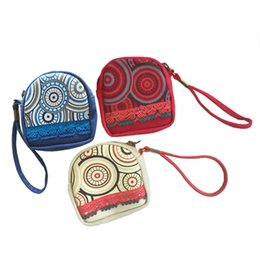 Wholesale Traditional Christmas Dress - Traditional Canvas bags Coin bags designer wallet national coin bags key Purse change purse change pocket holder bag L46
