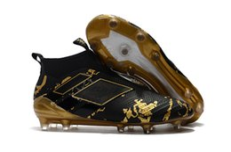 Wholesale Cheap Boys Winter Boots - 2017 Cheap Ace 17+ purecontrol FG Kids Boys soccer Shoes Pure Control Football Boots women Men Soccer Cleats Primeknit High Quality
